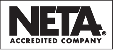 Logo showing that Midwest Engineering is a NETA accredited company