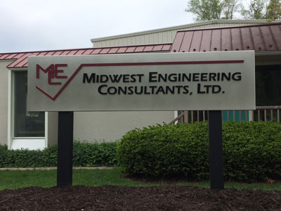 Midwest Engineering Consultants sign